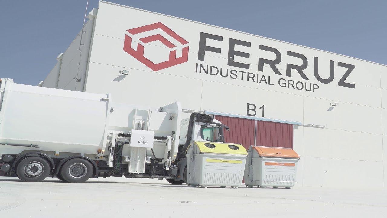 GRUPO FERRUZ: Recolectores-compactadores de RSU de carga lateral FM5