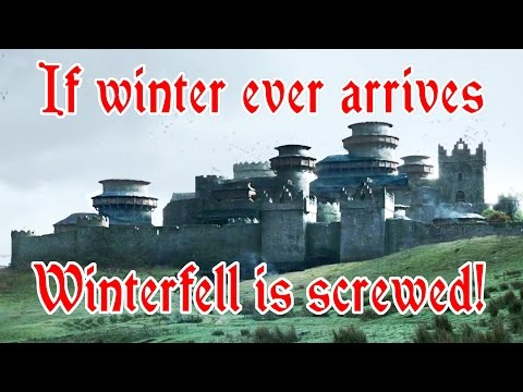 Are the castles in Game of Thrones realistic?