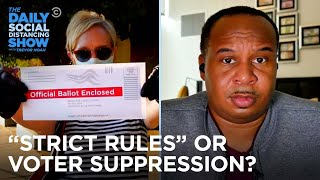 Are Harsher Vote-By-Mail Laws Really Just Voter Suppression?   The Daily Social Distancing Show