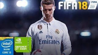 FIFA 18 on GeForce GT 930M 2GB - Intel Core i3 4005U - 10GB RAM [ASUS A455LF]
