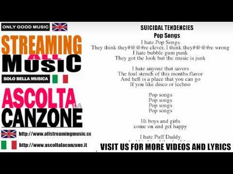 Suicidal Tendencies - Pop Songs (Lyrics / Testo)