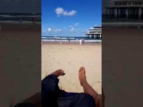 Scheveningen beach resort near The Hague in Holland - Clement Osuhor Live, The Osuhors on Holiday