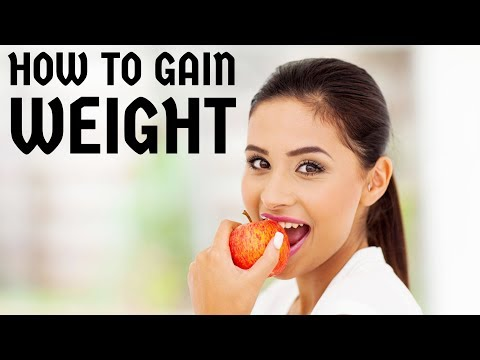 How to gain weight  become healthy  look good & beautiful  Nutrition, physical exercise Video