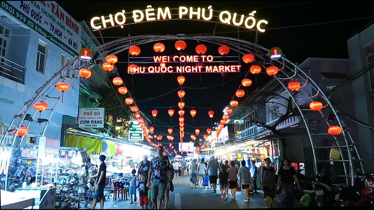 Kết quả hình ảnh cho chợ đêm phú quốc