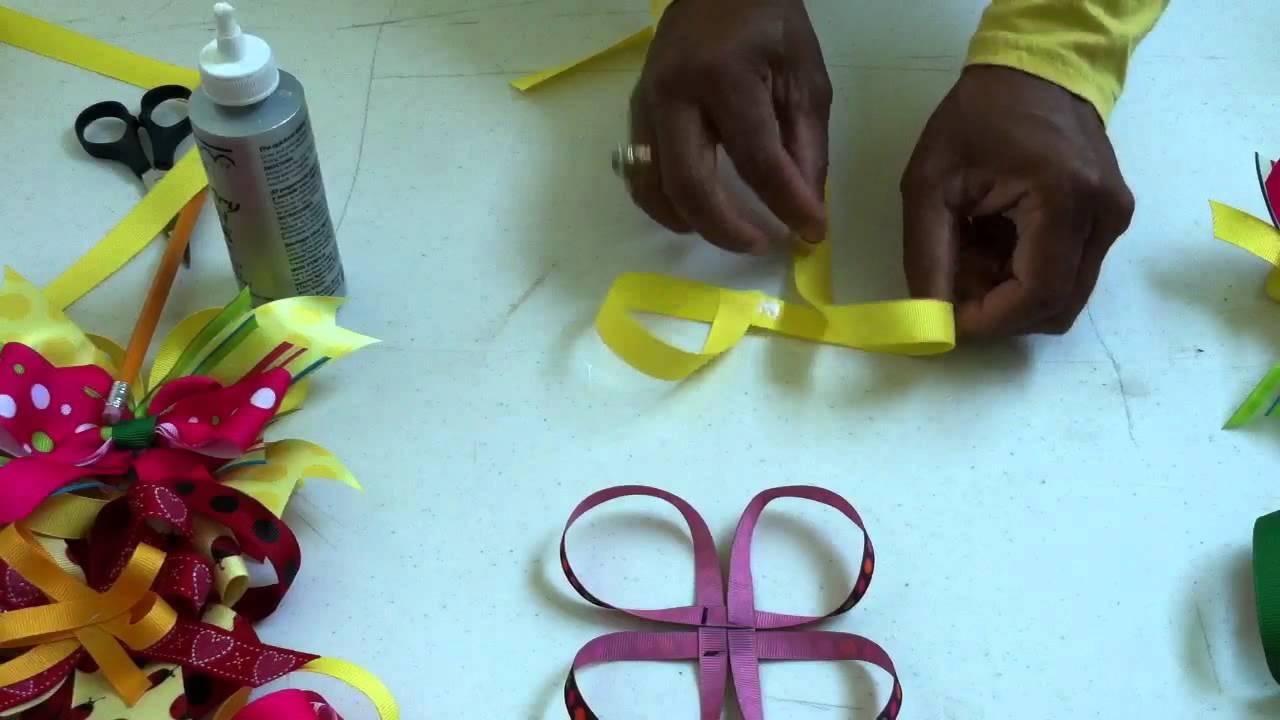 boutique hair bows tutorial