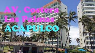 ⚓⛵Av Costera Las palmas,.Zona de Hoteles, ACAPULCO DIAMANTE🏖