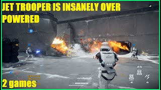 Star Wars Battlefront 2 - First Order Jet Troopers are SOO OP! Easily the best reinforcement in game