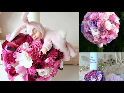 Lumanari De Botez Cu Flori Naturale An Ca Events Youtube