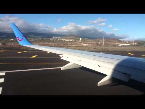 Thomson Airways 737-800 Taking Off Tenerife South Airport