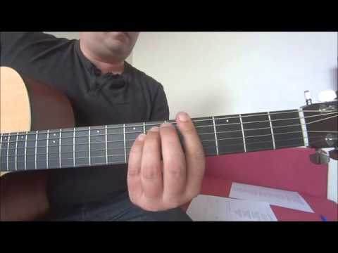 Tears Dry On Their Own - Amy Winehouse Acoustic Guitar Tutorial