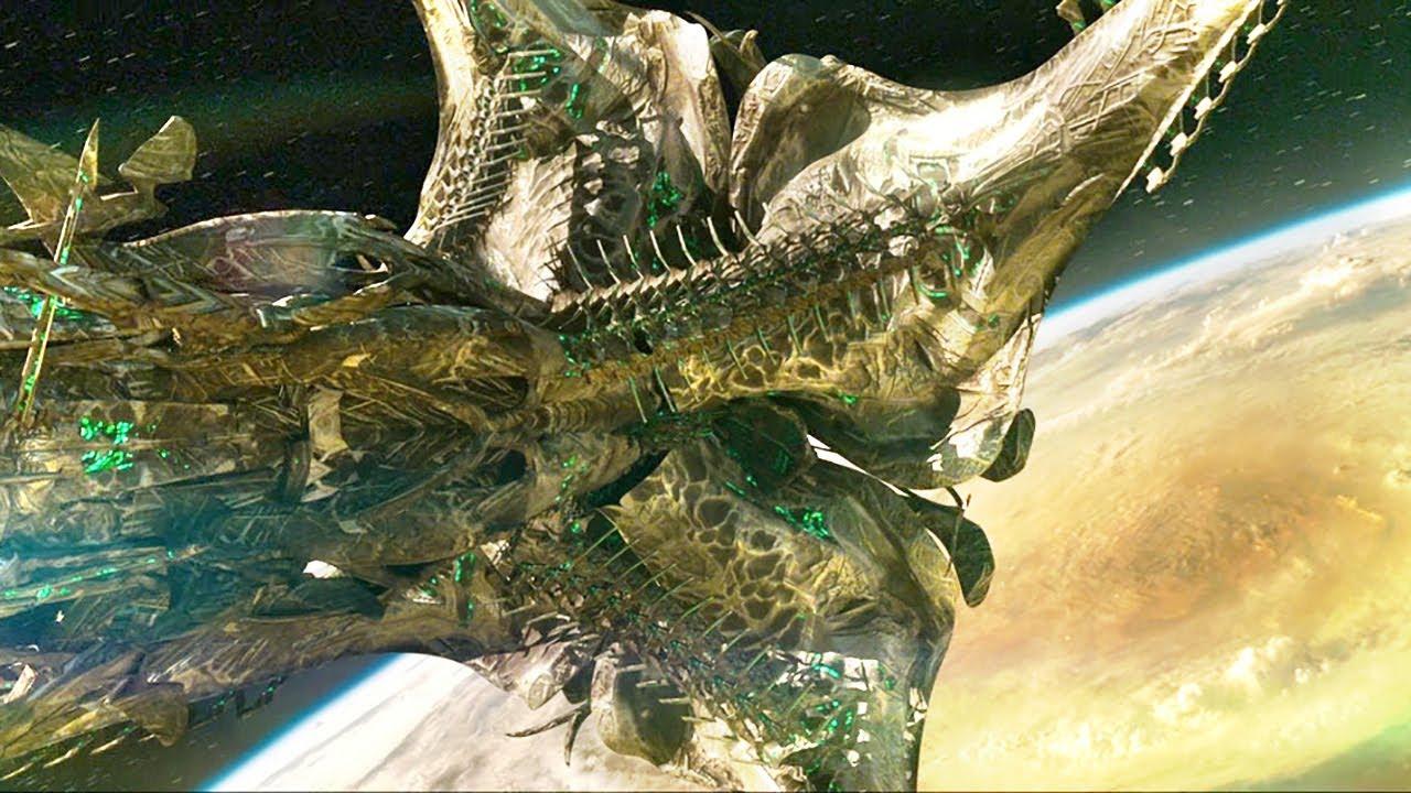 """外星文明入侵太阳系,向人类发射""""游星炸弹"""",将地球变成了一颗死星!"""