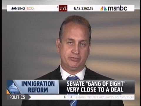 Diaz-Balart talks immigration with MSNBC