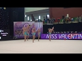 Illusion Pre Junior - TVS Illusion (FIN) ♡ Miss Valentine 2017 | AGG Girls 12-14 | Preliminaries