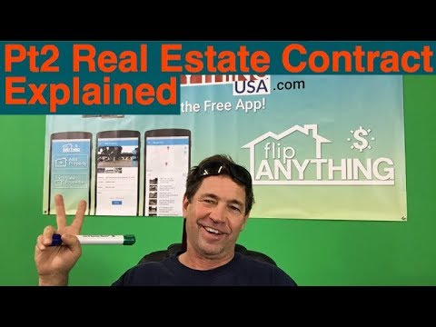 2. Real Estate Sales Contracts Explained: Create Wealth FlipAnythingUSA w/ Tom