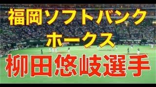 福岡ソフトバンクホークスの柳田 選手の応援歌を高音質カメラで撮影しま...