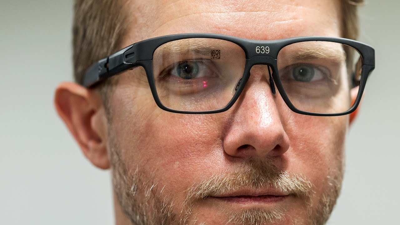 2db526c3a63 Exclusive  Intel s new smart glasses hands-on - YouTube