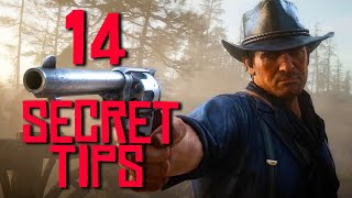Red Dead Redemption 2: 14 Secret Tips The Game Doesn't Tell You!