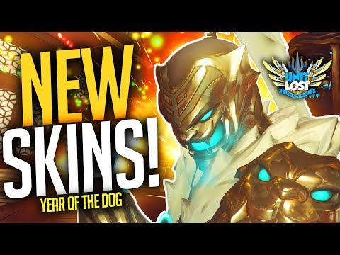 Overwatch - Year of the Dog NEW SKINS and ITEMS! (GENJI LOOKS INSANE!)