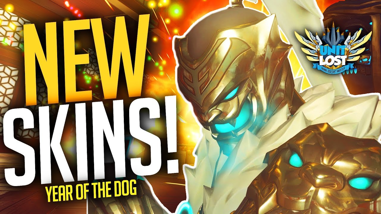 overwatch year of the dog items