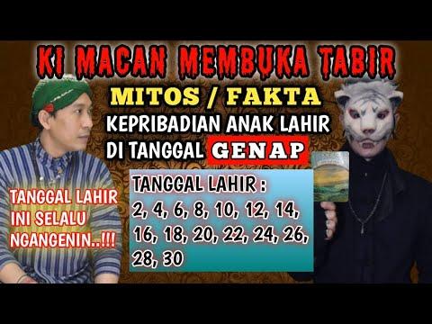 Download MITOS ATAU FAKTA...! KEPRIBADIAN ANAK KELAHIRAN DI TANGGAL GENAP | TABIR MISTERI |  KI MACAN |