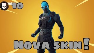 Fortnite-Using the new 15 real skin!