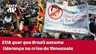 Secretário de Defesa dos EUA quer que Brasil assuma papel de liderança na crise da Venezuela