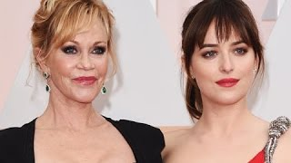 Dakota Johnson rips into her Mom, Melanie Griffith at Oscars SNL