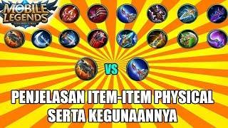 WAJIB TAU ! PENJELASAN TENTANG ITEM PHYSICAL SERTA KEGUNAANNYA - Mobile Legends Indonesia