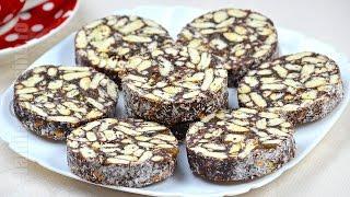 Salam de biscuiti / Biscuit Salami  (CC Eng Sub) | JamilaCuisine thumbnail