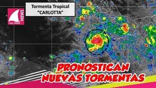 Tormenta tropical se une a Bud y pronostican nuevas tormentas en el país