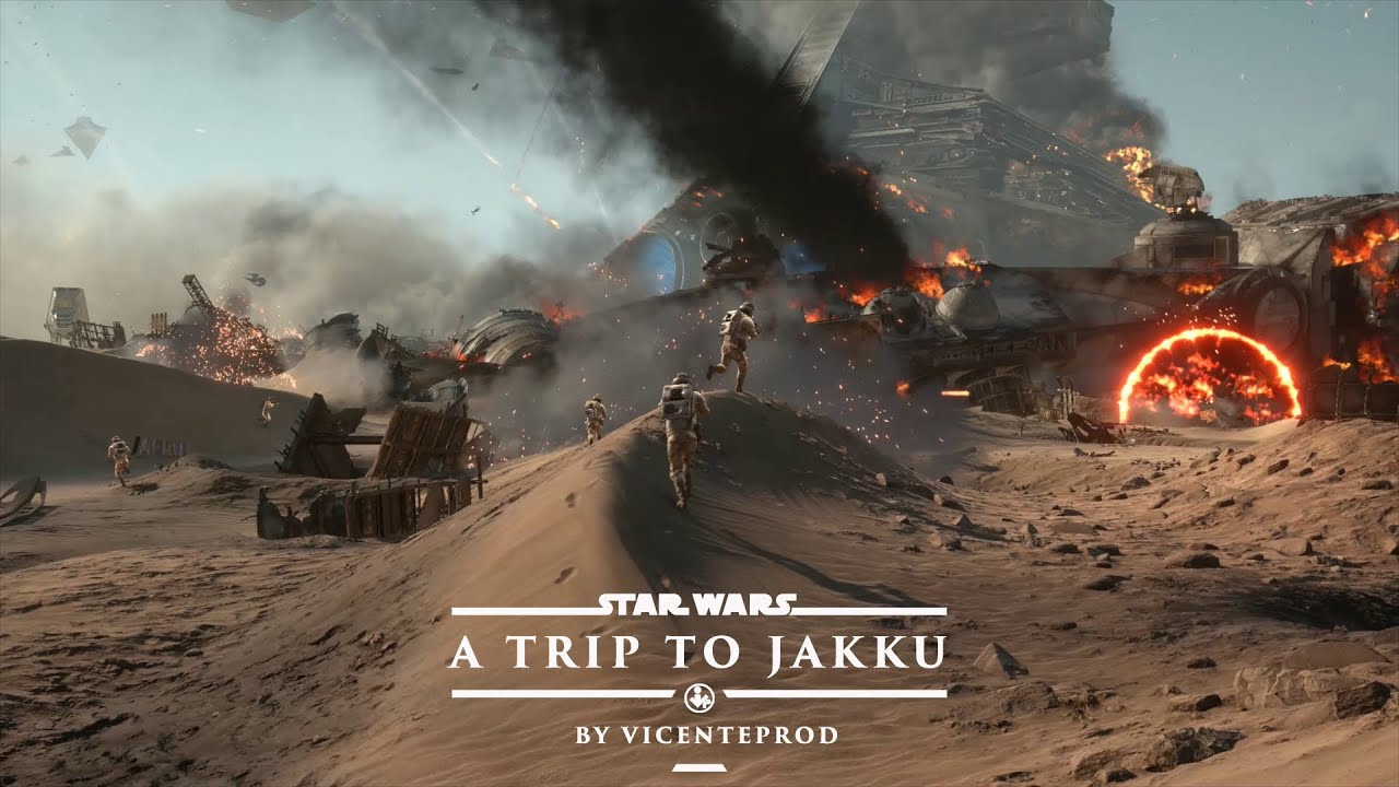 a trip to jakku - star wars battlefront 1440p ultra 60 fps - youtube