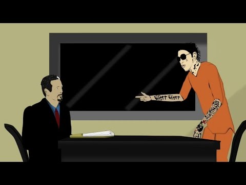 Vybz Kartel Talks Appeal Plans With His Lawyer. [Jamaican Cartoon]
