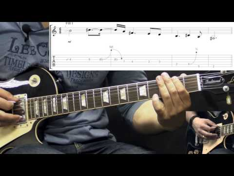 Danzig - Blood&Tears - Metal Guitar Lesson (w/Tabs)