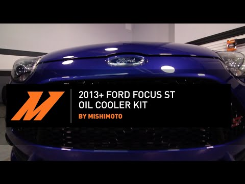 2013+ Ford Focus ST Oil Cooler Kit Features & Benefits By Mishimoto