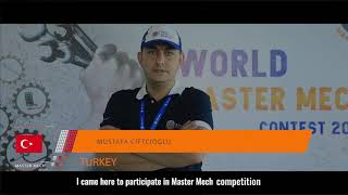 Self Introduction of Mr  MUSTAFA CIFTCIOGLU Turkey