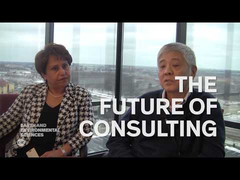 Geoscience Careers | Environmental Consultants - Marzi Sharfaei And Wei-Lin Feng
