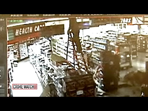 Crime Watch Daily: Bruised Burglar Won't Quit After 15-Foot Fall - CrimeTube
