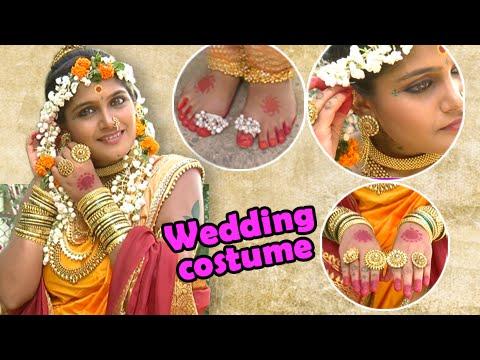 Jay Malhar - Banu Showing Her Wedding Costume - On Location - Zee Marathi Serial