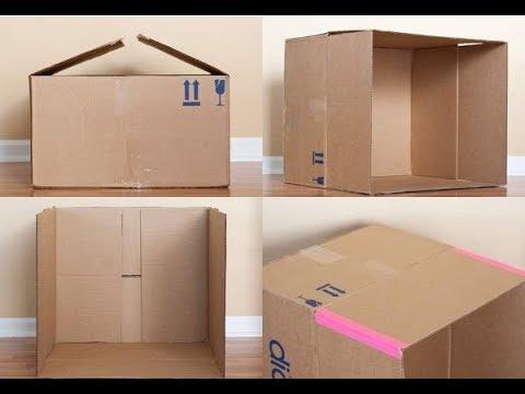 Дом для барби из коробки своими руками