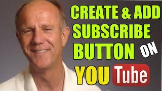 كيفية إنشاء و إضافة زر الاشتراك في جميع مقاطع الفيديو على قناة يوتيوب الخاصة بك