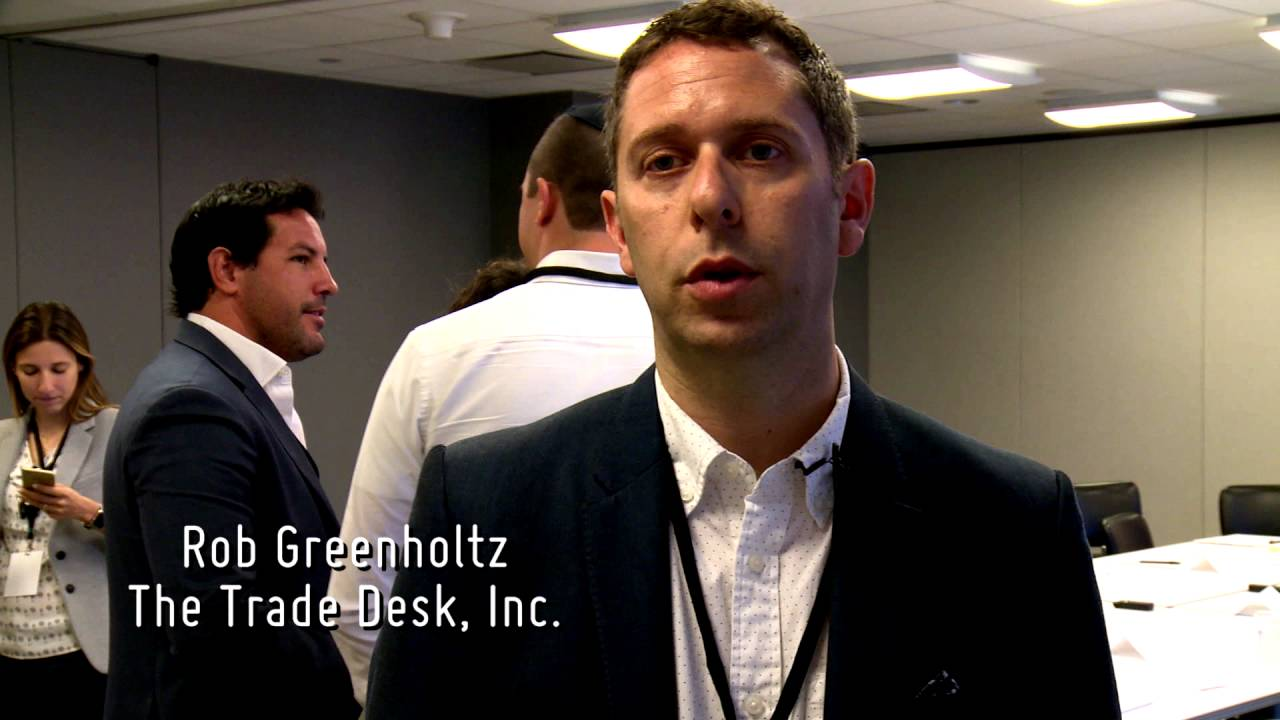 Brightcom NYC Roundtable, June 2016: Rob Greenholtz, The Trade Desk