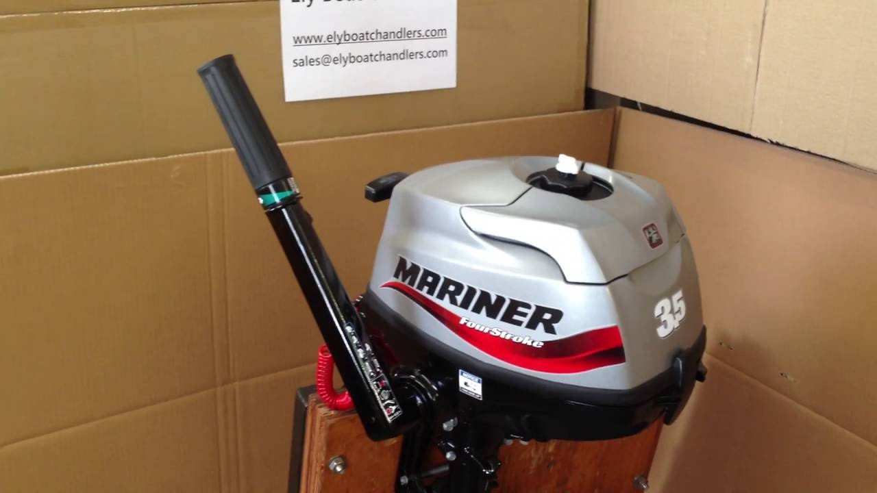 Mariner 3 5hp Four Stroke Outboard Review
