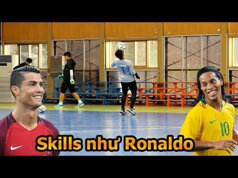 Thử Thách Bóng Đá với Công Phượng , Bùi Tiến Dũng , Quang Hải U23 Việt Nam quẩy Skills như Ronaldo