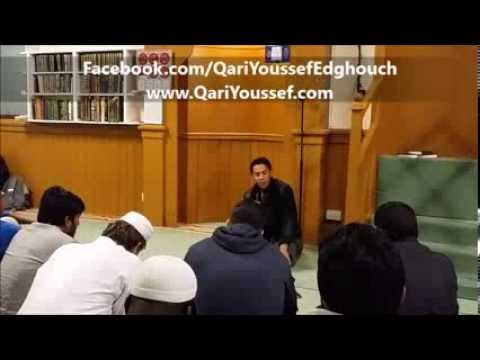 The most beautiful Recitation in Dublin Masjid, Ireland *Qari Youssef Edghouch