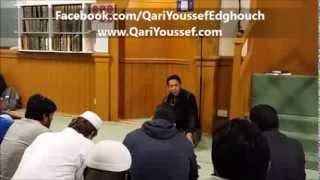 The most beautiful Recitation in Dublin Masjid, Ireland *Qari Youssef Edghouch