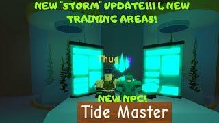 NEW EVENT *TIDE MASTER* NEW NPC QUESTS - POWER SIMULATOR (ROBLOX)