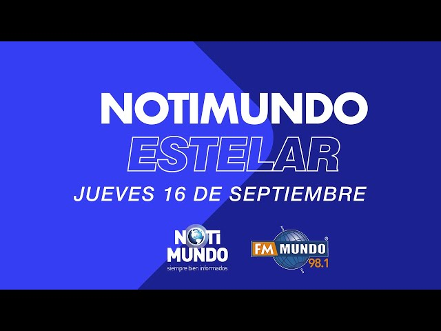NotiMundo Estelar  16 de septiembre 2021
