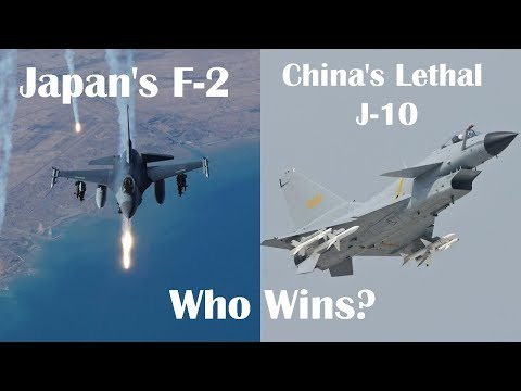 Japan's F-2 vs China's Lethal J-10 Fighter: Who Wins?