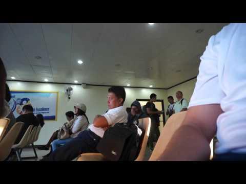 Calbayog City Airport Departure area