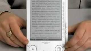 видео-обзор электронной книги sony prs 505
